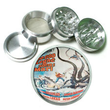 20,000 Leagues Under The Sea Metal Silver Aluminum Grinder D110 63mm Herb Spices