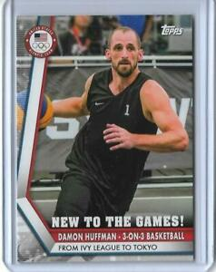 2020 TOPPS OLYMPICS DAMON HUFFMAN NEW GAMES CARD NG-DH ~ 3 ON 3 HOOPS 2021 ~ QTY
