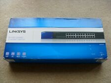 Linksys SE3024 24-port Gigabit Ethernet Switch