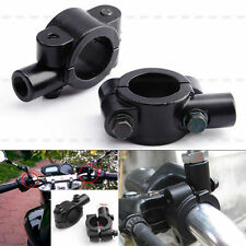 Noir 2 x 10mm Support Fixation Montage de Rétroviseur Miroir Moto Scooter Neuf