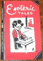 Esoteric Tales by Jonathan Bennett Small Press Indy Mincomic 2002 HTF RARE
