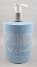 victorias secret pink wild & breezy body lotion 500ml