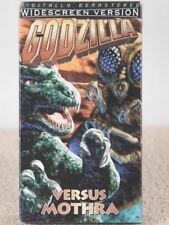 GODZILLA VS. MOTHRA SCI-FI VHS VIDEO TAPE