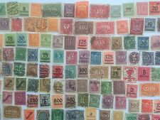 150 Different Germany Stamp Collection - Inflation 1919 to 1923