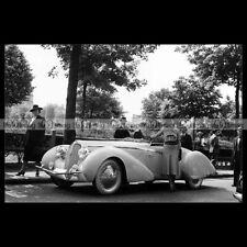 #pha.021675 Photo DELAHAYE 135 SPORT CABRIOLET SPECIAL 1939 Car Auto