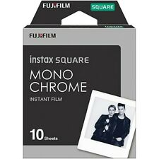 *NEW* Fuji INSTAX SQUARE Monochrome Instant Film DATED 06/2022