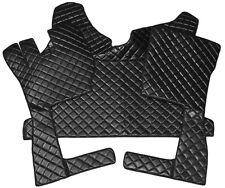 Volvo FH ab 2013 Passform Fußmatten Teppich Kunstleder Farbe Schwarz