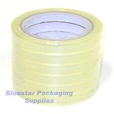 6 Clear 12mm Bag Neck Sealer Tape