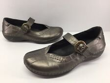 Spring Step Bronze Leather Mary Janes Women's sz 6.5-7 / 37