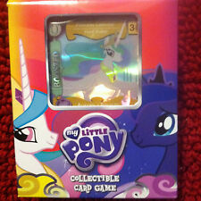 My Little Pony Collectible Card Game Canterlot Nights Princess Celestia Deck!