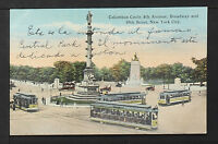 NEW YORK 930-Columbus Circle, 8th Avenue Broadway and 59th Street (1917)