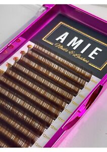 Dark Brown Easy Fanning Lashes Amie Lashes Eyelash Extensions Russian Volume Mix