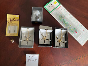dollhouse miniatures lot 1:12, electric lighting, Chandeliers, Lamp,Vintage New