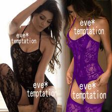 Sexy Cosplay Lingerie BodyStocking Babydoll Underwear Chemises garters Sleepwear