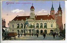 Frankierte Ansichtskarten aus Sachsen-Anhalt