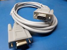 10ft Null Modem Cable Serial RS 232 DB9 DB 9 Female to Female