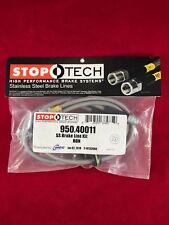 STOPTECH STAINLESS STEEL FRONT BRAKE LINE 06-10 HONDA CIVIC 2DR 4DR  950.40011