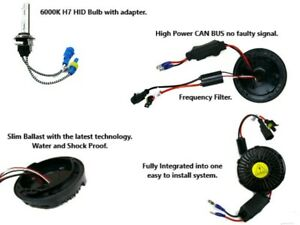 Mercedes Benz C CLASS Headlight All In One Fully Integrated Bolt On HID Kit