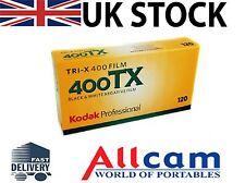 5 Pack: Kodak TRI-X 400TX 120 Tamaño iso400 negro y blanco Películas