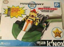 K'Nex Mario Kart Wii Building Set Bowser Motorized Standard Kart 26pc Brand New