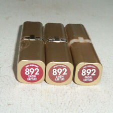 3 tube lot LOREAL COLOUR RICHE LIPSTICK 892 RAISIN RAPTURE unsealed flaw