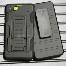 Rugged Hybrid Hard Case Armor Cover+Holster For. Sony Xperia Z1 Compact D5503