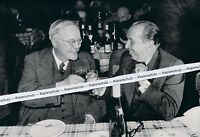 Willy Reichert und Reinhold Maier - um 1950 - RAR     K 6-11