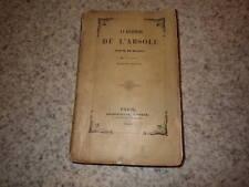 1840.La recherche de l'absolu.Balzac