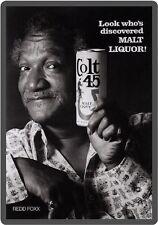 Colt 45 Beer Redd Foxx Refrigerator Magnet