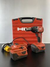 Hilti SIW 22-A Cordless Impact Wrench & 2 x 5.2Ah Batteries, Charger & Case