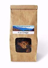 4 oz Wild Organic Chaga Mushroom - small chunks (perfect for chaga tea)