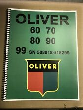 70 Oliver Tractor Technical Service Shop Repair Manual Model 70