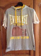 Everlast Hooded Shirt Sleeve T-shirt Size S