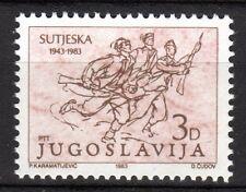 Yugoslavia - 1983 40 years battle of Sutjeska - Mi. 1987 MNH