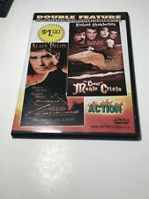 ZORRO w/ ALAIN DELON+COUNT OF MONTE CRISTO w/ R CHAMBERLAIN **DOUBLE FEATURE DVD