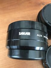 Sakar  vintage retro lenses made in japan with case