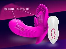 Newest USB Charge Female Masturbation Wearable Remote Butterfly Vibrator Panties