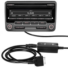 AUX Adapter Interface 12pol für VW Audi RCD 200 210 300 310 500 DMC iPhone iPod