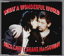 Nick Cave & Shane MacGowan - What A Wonderful World - CD