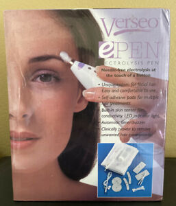FACTORY SEALED Verseo ePen Ectrolysis Pen Needle Free Electroysis