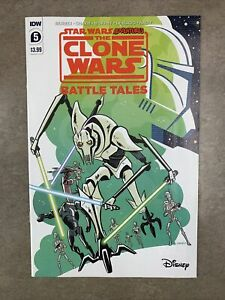 Star Wars Adventures Clone Wars Battle Tales #5 1:10 Derek Charm Variant