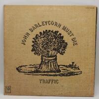 Vintage Traffic John Barleycorn Must Die Vinyl Record LP UAS-5504
