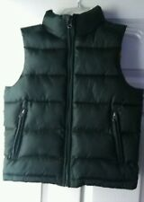 GAP Boys Size Medium (8) Insulated Quilted Puff Outerwear Green Vest.
