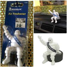 "Michelin Man Doll Collectible Bibendum Figure Sit on Tyre 4"" Car Air Freshener"
