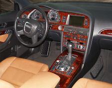 DASH TRIM PREMIUM  KIT 27 PCS FITS AUDI A6 2005-2011 AUTO, WITH GPS