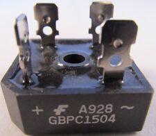 5 pezzi-ponti raddrizzatori GBPC 1504 - 15a 400v-uguale a trasmetterebbe = KBPC 1504