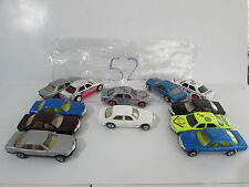 HOT WHEELS LOT OF 12 MERCEDES 380 SEL VINTAGE REVEALERS  MALAYSIA BASE