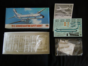"YS-11 ""Japanese Maritime Safety Agency"" 1/144 Hasegawa 10301 plastic kit model"