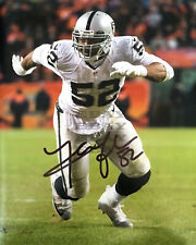 Khalil Mack Oakland Raiders 8x10 autographed photo Reprint