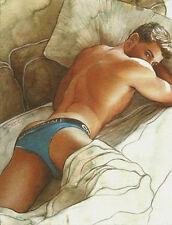 PRINT of Artwork Drawing Painting Male Gay Interest MCicconneT ~ BEFORE IT ENDS